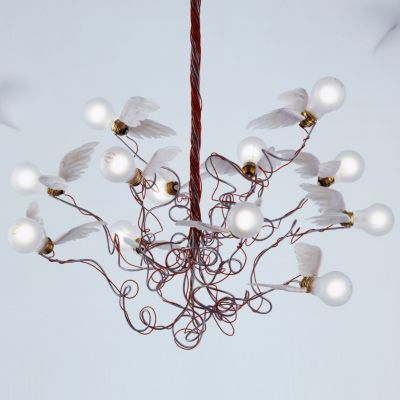 Charming Birdie Chandelier By Ingo Maurer At Lumens.com Amazing Ideas