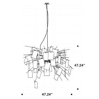 Zettel Z 5 Chandelier By Ingo Maurer At Lumens Com