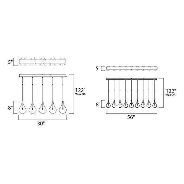 Larmes Linear Suspension