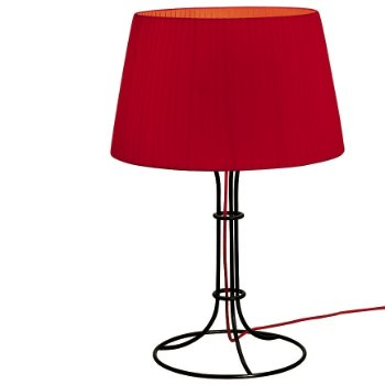 Shown in Red shade, Black finish