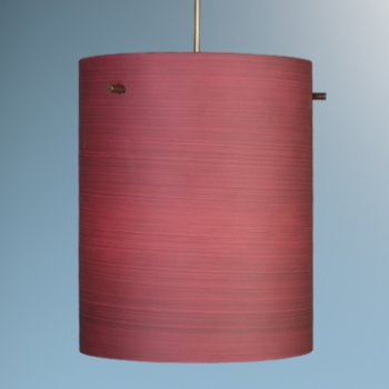 Shown in Merlot Texture glass, Bronze finish