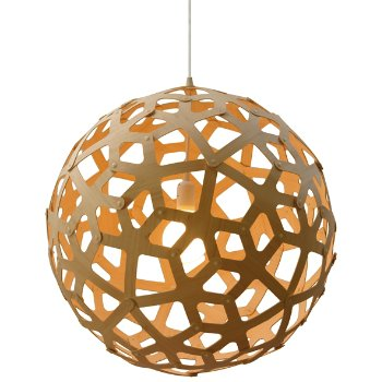Shown in Natural bamboo, lit