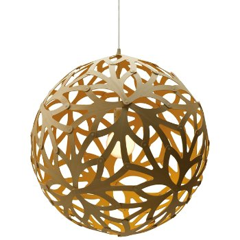 Shown in Natural Bamboo finish, lit