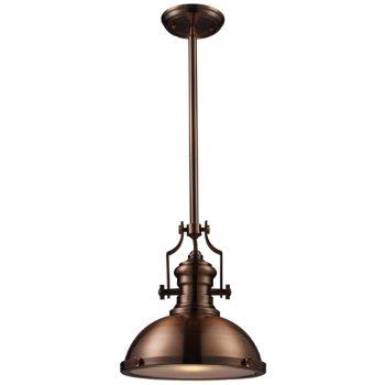 Shown in Antique Copper finish, Small size