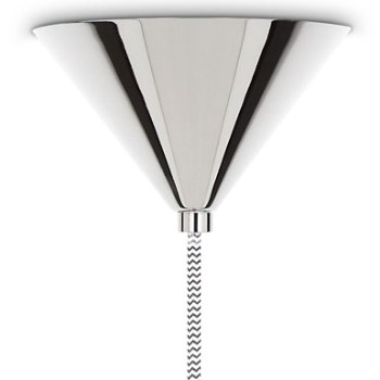 Shown in Stainless Steel, canopy