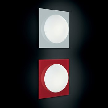 Shown in White  & Red finish