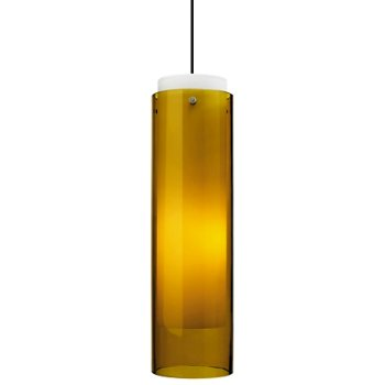 Shown in Amber glass, Black finish