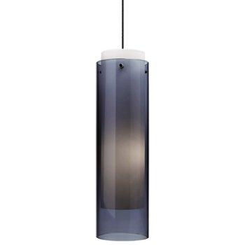 Shown in Steel Blue glass, Black finish