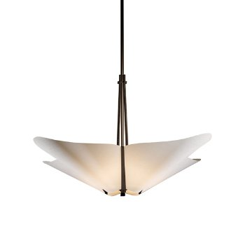 Shown in Bronze finish with Spun Frost shade color