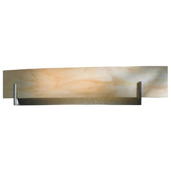 Shown in Amber Swirl Glass color, Burnished Steel finish