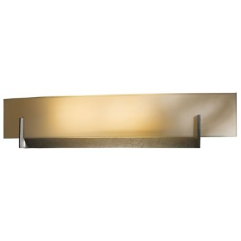 Shown in White Art shade, Burnished Steel finish