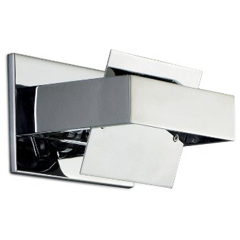 Shown in Transparent with Chrome finish