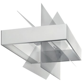 Shown in Transparent / White finish, Large size