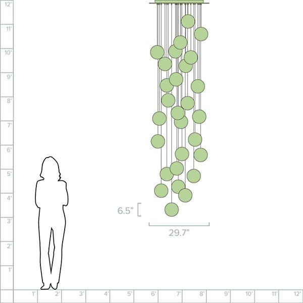 28.28 Multi-Light Pendant