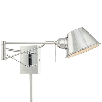 P611 Swing Arm Wall Sconce (Chrome) - OPEN BOX RETURN