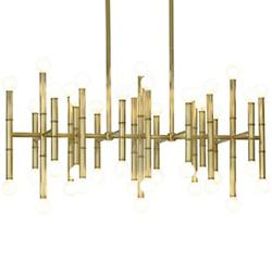 Large chandeliers big chandeliers suspension lights at lumens meurice rectangular chandelier aloadofball Image collections