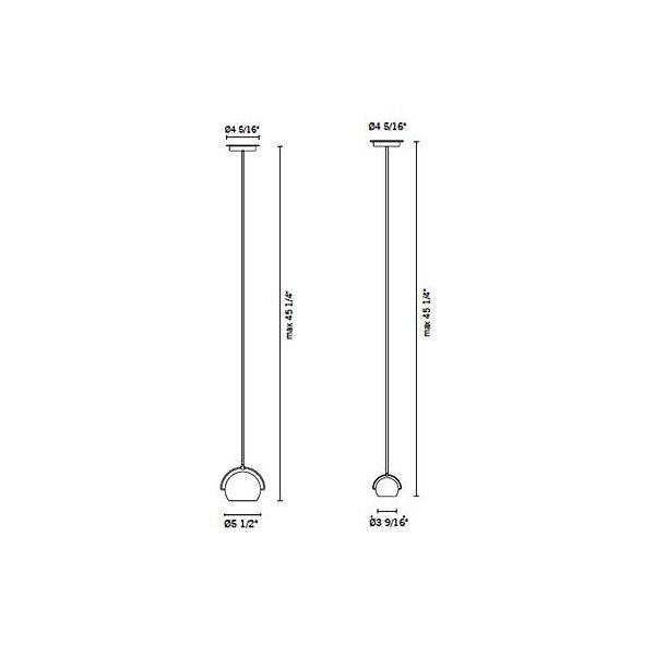 Beluga Steel Pendant