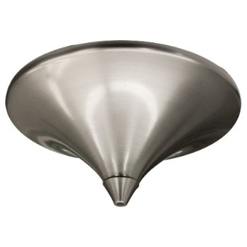 Ceiling canopy shown in Brushed Nickel finish