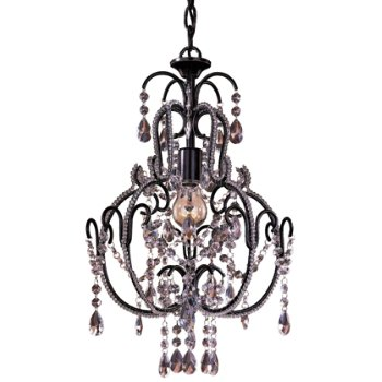 Mini Crystal Chandelier No. 3123 (Taylor Bronze) - OPEN BOX