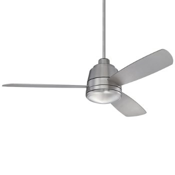 Shown in Satin Nickel White Frosted with Silver