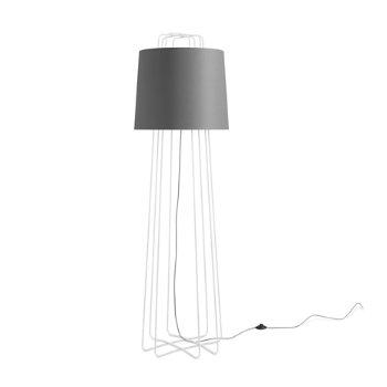 Perimeter Floor Lamp with Nook Bed and Perimeter Floor Lamp