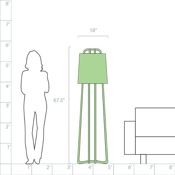 Perimeter Floor Lamp