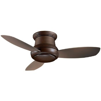 Concept II Flush 44 In Ceiling Fan (Bronze/Taupe) - OPEN BOX