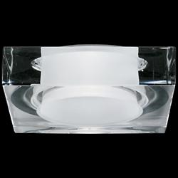 Faretti Lui Crystal Recessed Light