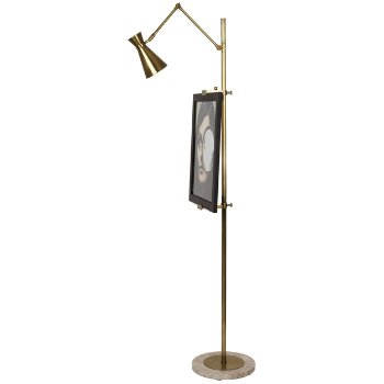 Bristol Floor Easel with Lamp