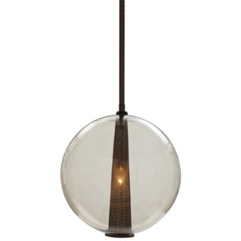 Shown in Brown Nickel finish with Smoke shade, Large size
