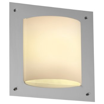 Fusion Framed Square 4-Sided Wall Sconce