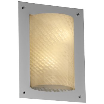 Fusion Framed Rectangular 4-Sided Wall Sconce