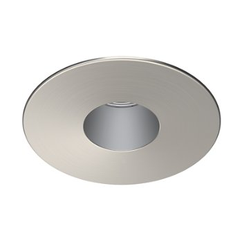 Brushed Chrome finish, Anodized Aluminum reflector
