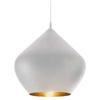 Beat Light White Pendant - Stout