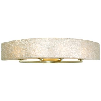 Shown in Gold Dust finish, Crushed Capiz Shell shade, Large size