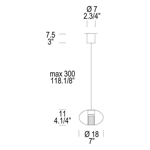 Fairy SG LED Mini Pendant