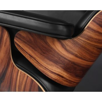 Shown in Walnut finish, Detail view