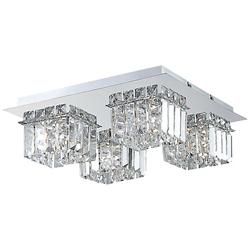 Crown 4-Light Flushmount