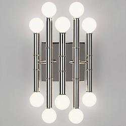 Meurice 5-Arm Wall Sconce (Polished Nickel)- OPEN BOX RETURN