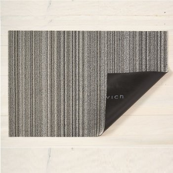 Skinny Stripe Shag Indoor/Outdoor Mat