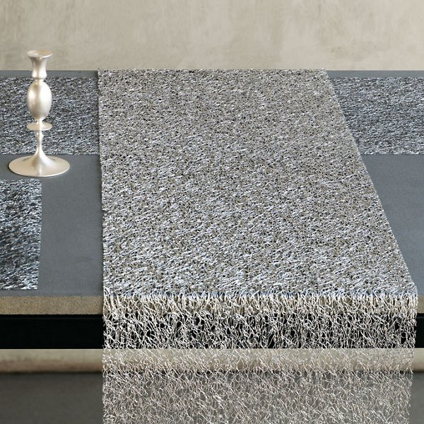 Metallic Lace Table Runner By Chilewich At Lumens Com