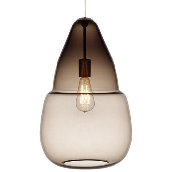 Smoke glass, Classic Edison incandescent bulb