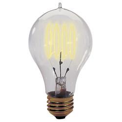 25W 120V A19 E26 Quad Loop Edison Bulb