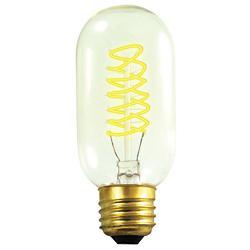 40W 120V T14 E26 Spiral Edison Bulb