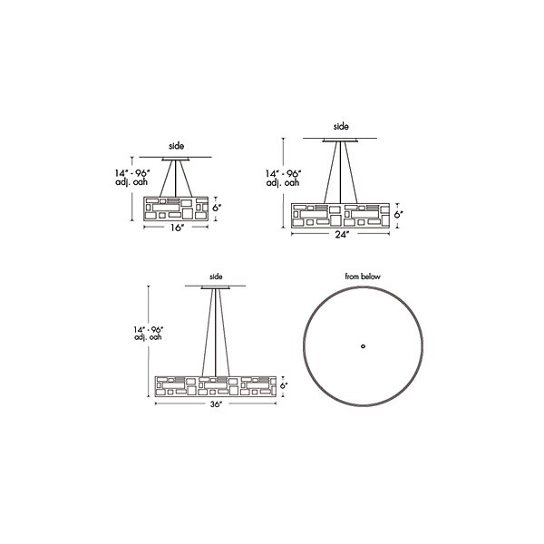 Genesis 11211 Drum Pendant
