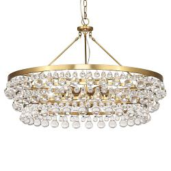 Crystal ceiling lights crystal pendants chandeliers at lumens bling large chandelier aloadofball Gallery