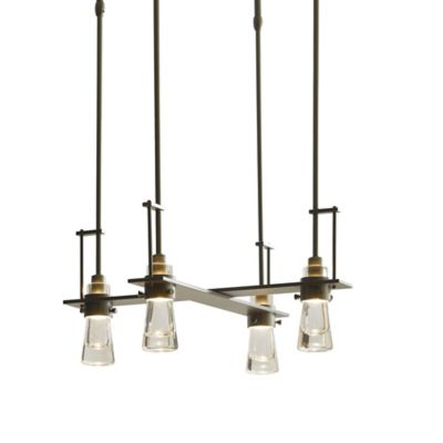 4 light pendant hadley erlenmeyer 4light pendant by hubbardton forge at lumenscom