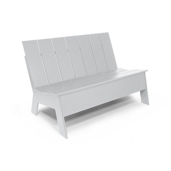 Picket Low Back Double Chair