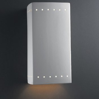 Shown in Large, Downlight, Perforations