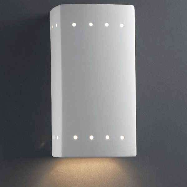 Rectangle Outdoor Wall Sconce